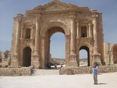 Arch of Hadrian, Jerash (Aidan McRae Thomson) Tags: ruins roman jordan classical jerash antiquity