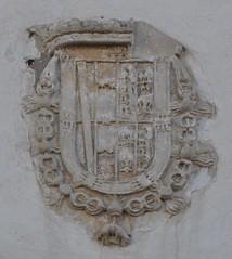 Sanlucar de Barrameda (Cdiz). Iglesia de la Merced. Escudo (santi abella) Tags: espaa andaluca cdiz sanlucardebarrameda escudos herldica