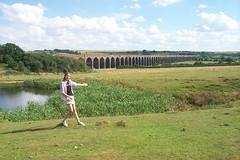 Welland viaduct, Rutland (x70tjw) Tags: england railway viaduct rutland welland wellandviaduct