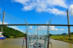 RFA GOLD ROVER - Panama Canal (Ugborough Exile) Tags: nikon ships panama 2014 d7000