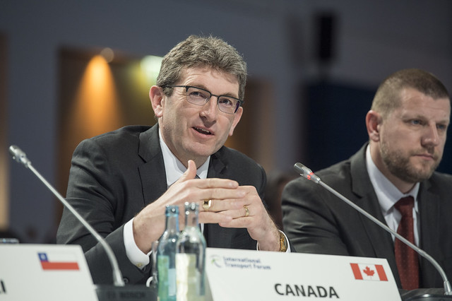 Michael Keenan participates during the Open Ministerial Session