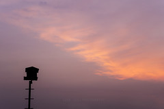 Home sweet home (leonlee28) Tags: morning blue red sky orange cloud purple outdoor naturallighting owlhouse leonlee28 leonlee
