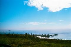 45430024 (danimyths) Tags: ocean california film beach nature water landscape coast waterfront pacific roadtrip pch pacificocean westcoast pacificcoastalhighway filmphotography