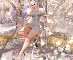 Fairy Garden (RoxxyPink) Tags: pink white fashion garden hair wings candy mesh olive style mandala sl nails fairy fantasy empire heels hustler puki roxxy maitreya slink meshhead meshbody crunchers ryca catwa candycrunchers pinkhustler fashionuschies roxxypink