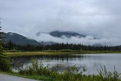 Lake Minnewanka maybe? (myphotothrowaway) Tags: mountain lake mountains hiking lakes glacier louise alberta rivers backcountry banff canmore