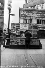 Newsstand at 4th & Pike, 1926 (Seattle Municipal Archives) Tags: seattle 1920s newspapers downtownseattle newsstands drugstores seattlemunicipalarchives
