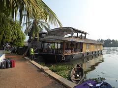 Farewell to Our Boat (Aidan McRae Thomson) Tags: india boat houseboat kerala kumarakom