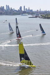 NY-VENDEE(Les Sables) | Start (imocaoceanmasters) Tags: 052016 day inside newyorkcity usa jour newyork singlehanded imoca monohull oceanmaster manhattan newyorkvendee start heli