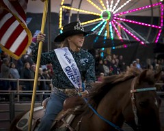 Rodeo Queen (_bobmcclure_) Tags: wheel flag fair ferris queen rodeo cowgirl verdevalley flaggirl