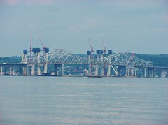 THE NEW AND THE OLD BRIDGE IN JUNE 2016 (richie 59) Tags: newyorkstate newyork unitedstates weekend saturday interstatehighway spring rocklandcountyny richie59 rocklandcounty hudsonriver metronewyork newyorkstatethruway 2016 tappanzeebridge interstate287 interstate87 june42016 june2016 piermontny piermont america 2010s bridge newbridge oldbridge bridgeconstruction constructionsite hudsonvalley nystate nys ny usa us outside highway freeway roadway road dividedhighway river water constructioncranes constructioncrane trees concretepiers slipform bridgework