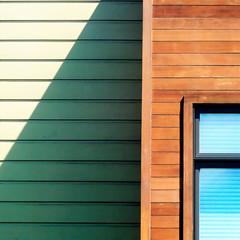 (msdonnalee) Tags: shadow window ventana architecturaldetail geometry fenster ombra sombra ombre explore finestra venetianblinds janela schatten geometrie woodsiding