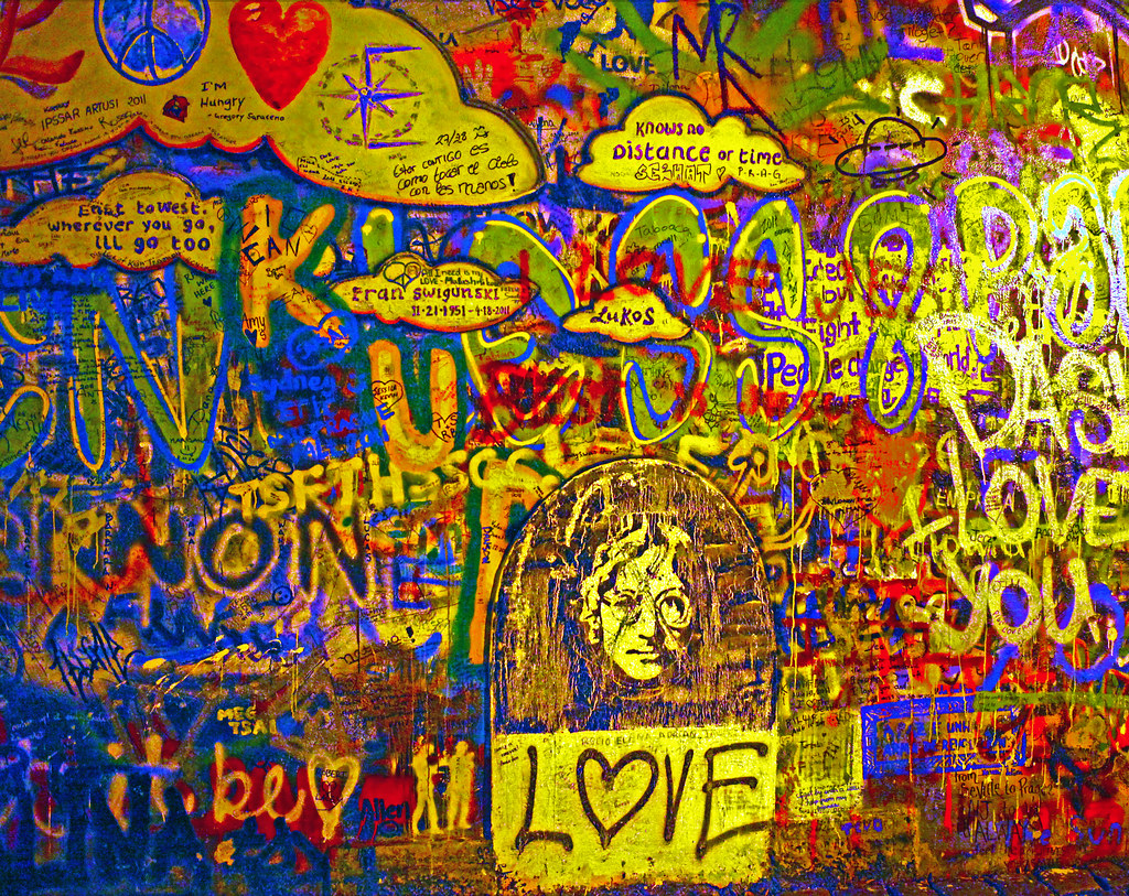 The World\'s Best Photos of beatles and johnlennonwall - Flickr Hive Mind