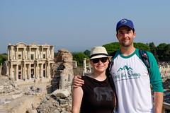 Ryan & Cecilia at Ephesus (_Codename_) Tags: elephant turkey ryan library columns cecilia ephesus libraryofcelsus rocktheshores