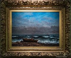 DSC8467 Gustave Courbet - La Ola, hacia 1870, Museo de Bellas Artes de Orlans (ramonmunoz_arte) Tags: de orleans muse des museo artes francia bellas beauxarts