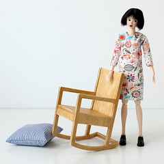 rocking chair once again (MINIMAGINE) Tags: dollfurniture momokodoll playscale