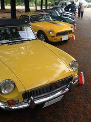 BCCM16054b (tanayan) Tags: park classic car nikon automobile meeting mg nagoya british j1  iphone   tsuruma