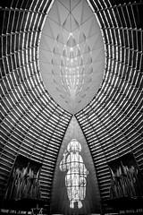 God's Architecture (Thomas Hawk) Tags: california bw usa church architecture america oakland catholic unitedstates fav50 unitedstatesofamerica bayarea eastbay westcoast fav10 fav25 fav100 cathedralofchristthelight