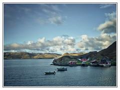 Landscapes of Norway (3) (kurtwolf303) Tags: ocean blue sea sky topf25 water norway clouds buildings landscape boats norge topf50 topf75 meer wasser europe 500v20f skandinavien norwegen himmel wolken boote shore blau scandinavia ufer landschaft topf100 summerevening 9pm 800views seaview omd kste huser nordkapp travelphotography nordatlantik sommernacht reisefotografie 900views 750views 1500v60f 1000v40f 250v10f systemcamera magerya unlimitedphotos micro43 microfourthirds olympusem1