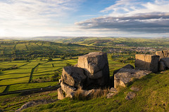 Early evening light at Cowling Pinnacle looking north towards Crosshills. (Matthew77W) Tags: travel sky beautiful clouds landscape photography evening countryside rocks walk yorkshire hike explore summerevening northyorkshire eveninglight cowling landscapephotography 1635mmf28 ukcountryside uklandscape canon7d2