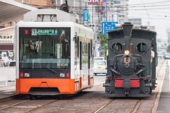 . (bgfotologue) Tags: travel summer japan train landscape photography village traditional railway steam sl jp shikoku    bg   roadtrain ehime     2015          500px      botchan tumblr    thumblr bellphoto