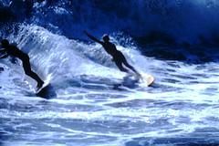 9-20-1969--Huntington Beach Calif (23) (foundslides) Tags: pictures ocean ca usa 1969 beach found photography coast photo surf kodak surfer picture surfing slidefilm 1960s kodachrome slides foundslides califronia transparencies srufers irmalouiserudd johnhrudd