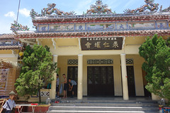 Buddhist temple, Hue (judithbluepool) Tags: vietnam hue buddhisttemple schoolboys