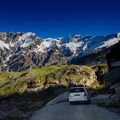 En route, Rohtang La. (shamik_photos) Tags: mountain square landscape manali rohtangpass himalayas himachalpradesh rohtang