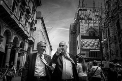 Untitled (lookslikeipickedthewrongweek) Tags: street milan blackwhite streetphotography bnw