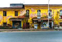 Decay (VaibhavSharmaPhotography) Tags: life old urban india streets color history yellow architecture buildings decay goa cities decrepit towns panjim