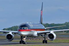 Boeing757 N757AF TRUMP at Prestwick (Allan Durward) Tags: donaldtrump trump prestwick pik boeing757 b757 egpk n757af 2j4er