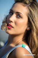 Lidia (Aurora Daz ) Tags: portrait eyes chica dress lips sensual ojos labios guapa roja retrto