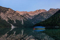 Plansee - blue hour (MC-80) Tags: lake mountains reflections austria see tirol sterreich berge bluehour spiegelung tyrol plansee blauestunde