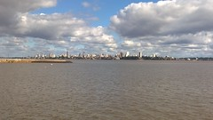 Looking over the river to Argentina
