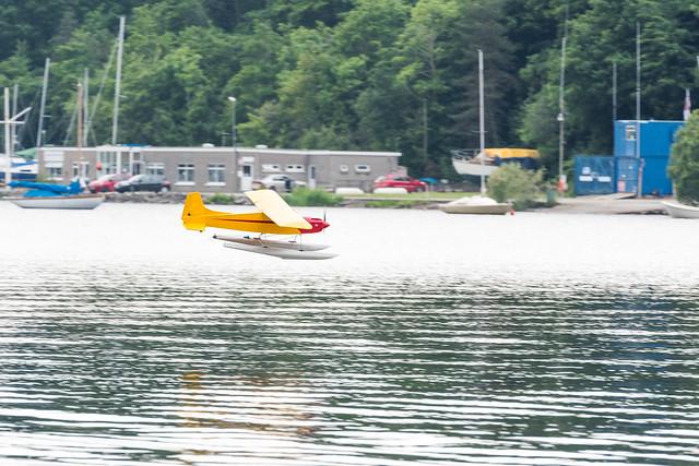 Alan's seaplane.