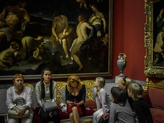 Zones of attention (rsvatox) Tags: people art colors russia paintings saintpetersburg hermitage museums painture