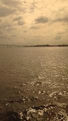 sepia (stefabricio) Tags: brazil rio brasil de janeiro ponte barcas niteroi guanabara baia