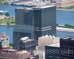 One and Two United Nations Plaza Buildings, New York City (jag9889) Tags: nyc newyorkcity usa ny newyork building water architecture skyscraper river observation unitedstates outdoor manhattan unitedstatesofamerica aerialview landmark midtown deck observatory esb unitednations eastriver empirestatebuilding rooseveltisland waterway openair 2016 fdrfourfreedomspark jag9889 20160610