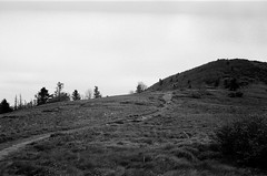 Footpath (Grondin Gallery) Tags: the appalachian trail 400 iso 400iso 400tx kodak hiking backpacking black white mountain path zeiss