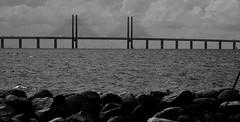 Broen (brandsvig) Tags: bridge bw june skne bro malm bron resund broen resundsbron 2015 samsungs4