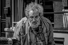 an old man is twice a child (william shakespeare) (nagajohn) Tags: streetphotography straatfotografie fotografie photography people streets candid streetlife moment straatfotograaf opstraat onthestreet streetscene straten beautifulpeople monochrome blackandwhite outdoor netherlands mooiemensen nederland holland amsterdam amsterdammers mokum nagajohn johnkwee