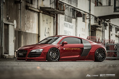 Liberty walk Audi R8 with Fi Exhaust (Fi Exhaust) Tags: audi r8 audir8 liberty walk libertwalk lb perfomance frequency intelligent exhaust fiexhaust wide body