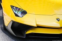 Bull's eye (vinchops) Tags: summer toronto canada cars car closeup automobile hamilton exotic vehicle spotted lamborghini supercar hypercar aventador