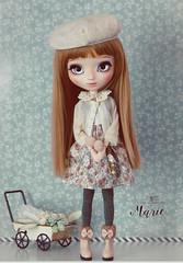 Marie (Mikiyochii) Tags: doll dolls ooak groove pullip fashiondoll pullips ooakdoll