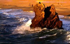 On the roc (pierre et aline Favraud) Tags: sunset biarritz paysbasque aquitaine