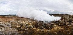 Burning Bridges (katrin glaesmann) Tags: island iceland pano stitched reykjanes gunnuhver suurnes geothermalarea unterwegsmiticelandtours photographyholidaywithicelandtours