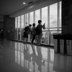planespotting ('Barnaby') Tags: airport departurelounge terminal bali people anthonyandlily barnabyrobson wwwbarnabyrobsonorg wedding baliairport indonesia planes airplanes kuta id