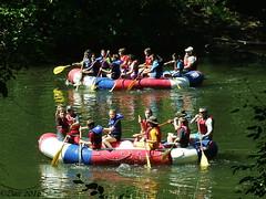 Rafting on the Little Miami River (Picsnapper1212) Tags: ohio nature river scenic scene rafting raft littlemiamiriver warrencounty oregonia