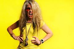 Marynell Hardin (Studio d'Xavier) Tags: portrait musician yellow rockroll strobist marynellhardin