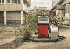 Fuel For Hatred. (Johannes Burkhart) Tags: urbex urban lost decay abandoned place gas station diesel