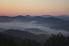 Sunrise from the Foothills (SeraJayPhotos) Tags: hourse cadescove tennessee greatsmokynationalpark nature foothills parkway morning light sunrise sky